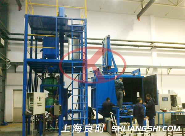 沈阳飞机工业数控强力喷丸机床用于飞机零部件喷丸